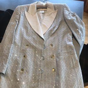 Stunning beige with sequins Escada jacket.